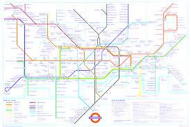 Underground Map London Underground Map Beauteous Map Of The London Underground