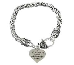 bracelet best images Best friends bracelet not sisters by blood but jpg
