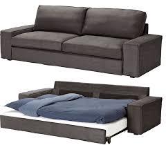 Ikea Futon Cover Slipcover For Ikea Kivik 3 Seat Sofa Bed Slipcover Tullinge Gray