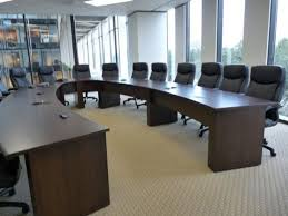 Office Furniture Meeting Table New Office Conference Tables Custom Horseshoe Or U Shaped Table