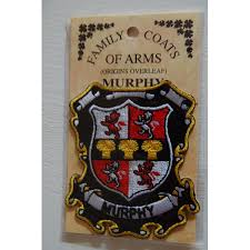 embroidered heraldic patches murphy embroidered patch coat of arms