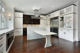 Wood Floor In Kitchen by Hardwood Floor In The Kitchen Interesting On Floor Throughout Wood