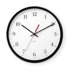Wall Watch by Bodoni Wall Clock Moma Design Store