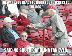 South Carolina Memes - hey are you ready to book your tickets to the bcs said no