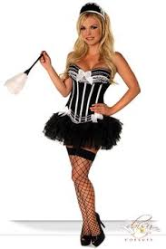 French Maid Halloween Costume French Maid Costume Boo