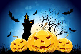 hd wallpaper halloween holiday halloween funny pumpkin tree moon castle mouse smile