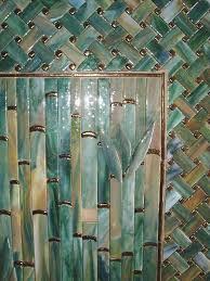 Bamboo Backsplash Designer Glass MosaicsDesigner Glass Mosaics - Bamboo backsplash