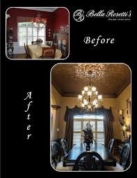before and after bella rosetti u0027s home interiors