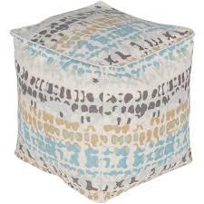 artistic weavers rudyard multi color accent pouf ottoman