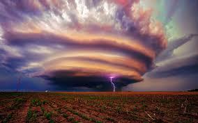 Lightning Storm Wallpaper Hd For Desktop Tornado Storm