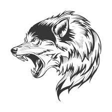 growling wolf t shirts teepublic