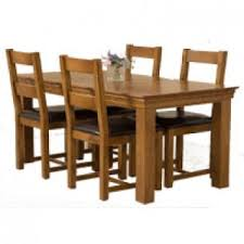 French Chateau Solid Oak Dining Sets Free UK Delivery - Rustic oak kitchen table
