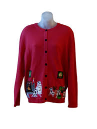 a dalmation christmas cardigan ugly christmas sweaters for sale