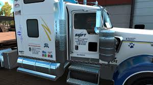 kenworth dealer swift transportation kenworth w900 skin updated mod ats mod