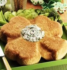 yummy st patrick u0027s day shamrock bread stick homemade st patricks