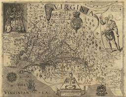 State Of Virginia Map by Smith Maps Captain John Smith Chesapeake National Historic Trail