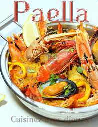 paella au poulet et fruits de mer facile recettes faciles