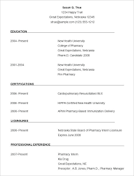 curriculum vitae exle for part time jobs with benefits how to write a resume for your first part time job simple format