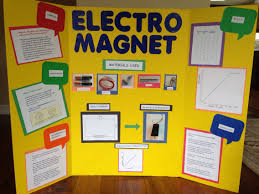 science fair presentation electromagnet for kaush science