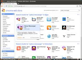 chrome google webstore everything about linux how to install yahoo messanger on ubuntu