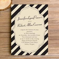 vintage wedding invitations classic black stripes vintage wedding invitations ewi291as low as