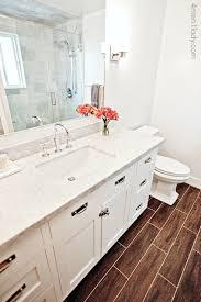 Decorators White Benjamin Moore Honed Carrera Marble Countertops Transitional Bathroom