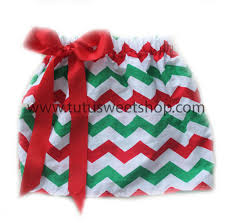 christmas skirt green white chevron zig zag christmas skirts