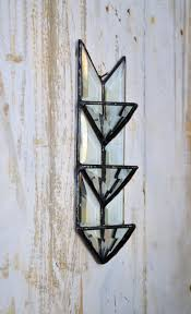 Air Plant Wall Holder Air Planter Air Plant Wall Holder Stained Glass Arrow Glass