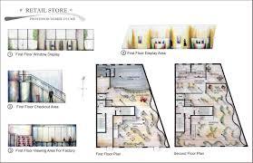 Rendered Floor Plans by Elizabeth Carters Interior Design Portfolio By Elizabeth Carter At