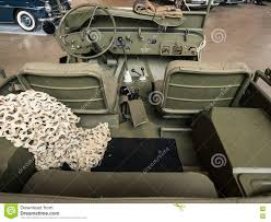 old military jeep dashboard of an old military jeep editorial photography image