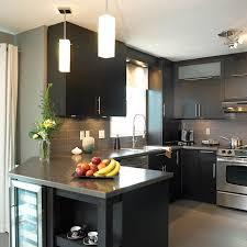 style de cuisine cuisine de style urbain avec comptoir en stratifié et bordure de
