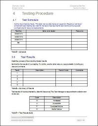 acceptance test plan template free logs forms and checklists