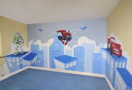 Kids Murals Childrens Rooms Decorating Kids Rooms Super Hero - Kids rooms murals