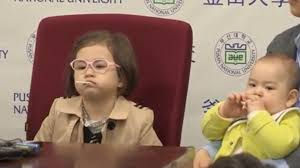 Bbc Memes - bbc toddler press conference memes that show the girl s got swagger