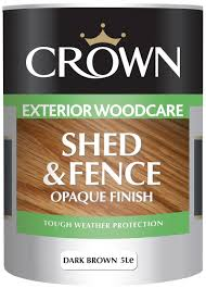 crown shed u0026 fence opaque finish