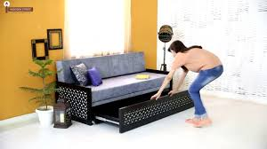 Used Sofa In Bangalore Sofa Beds Betty Wooden Sofa Bed Living Room Furniture