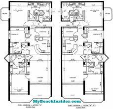 Bathroom Floor Plans Small Boardwalk Beach Resort Floor Plans Panama City Beach Florida
