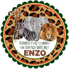 african safari animals safari animal stickers african safari stickersjungle safari