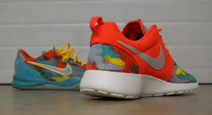 amac custom fashion nike roshe run mens venice by amac customs for sale