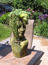 my lady head planter diy pinterest head planters