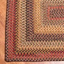 Braided Rugs Rectangular Wool Braided Rugs In Budapest Irvin U0027s Country Tinware