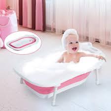 Mit Baby In Badewanne Homcom Babywanne Baby Badewanne Mit Stützbeinen