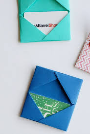 How To Make A Card Envelope - best 25 gift card wrapping ideas on pinterest diy wrapping gift