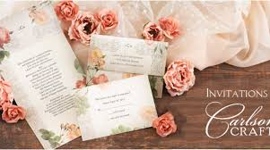how to make your own wedding invitations carlson craft wedding invitations mcmhandbags org