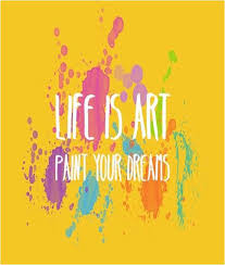 life is art paint your dreams swirlsllc com great quotes