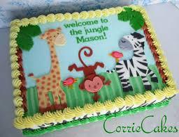 jungle theme baby shower cake 13 animal baby shower sheet cakes photo zoo baby shower cake