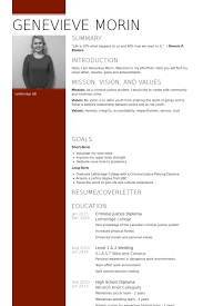Criminal Justice Resume Sample by Hospitality Resume Samples Visualcv Resume Samples Database