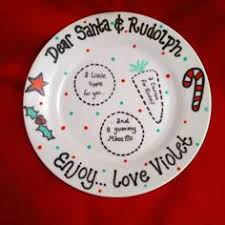 worm co santa s cookies personalized plate more