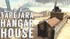 tapejara hangar house ark build guide adobe and stone house