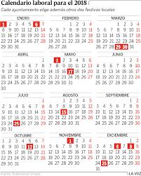 Calendario Diciembre 2018 Galicia Tendrá Un Festivo Más En El 2018 Pero Las Horas Habrá Que